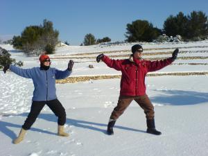Tai chi hivernal !